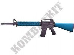 ST-GBB-08-BK M16A4 RIS Assault Rifle Gas Blowback Airsoft BB Machine Gun Black & 2 Tone